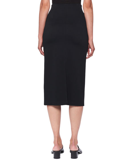 Adiale Fitted Midi Pencil Skirt