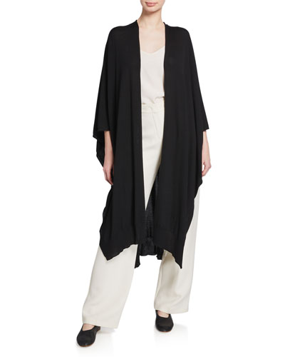 Hern Wool-Cashmere Cape