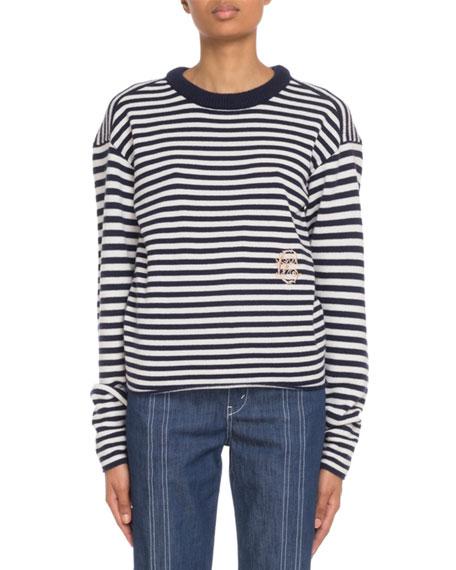 Chloe Cashmere Mariniere Sweater