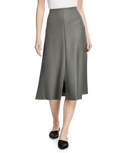 Bea Wool Midi Skirt