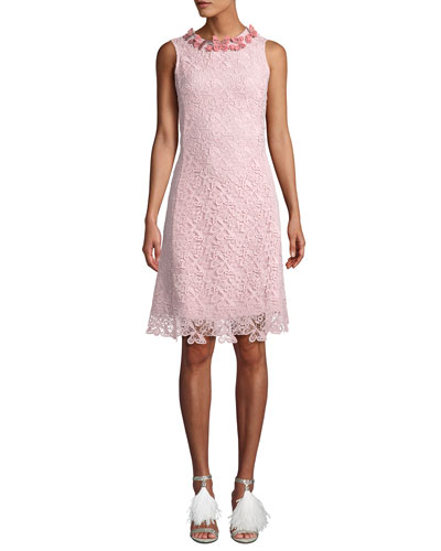 Long-Sleeve Butterfly Lace Cocktail Dress Quick Look. Mary Katrantzou ba0adf9e4