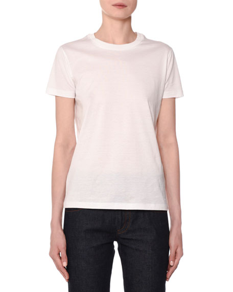 Short-Sleeve Crewneck Jersey T-Shirt