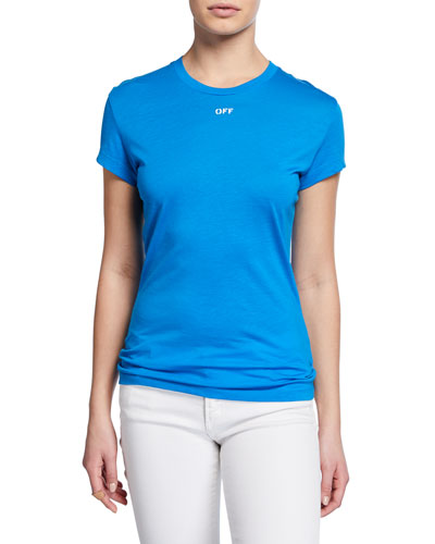 Short-Sleeve Fitted Tee