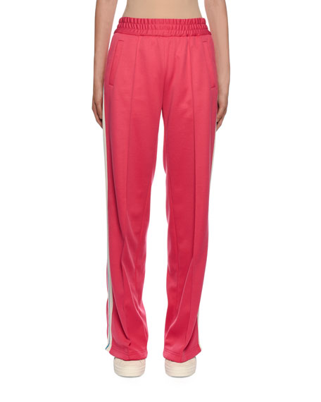 Off-White Side-Striped Gym Track Pants