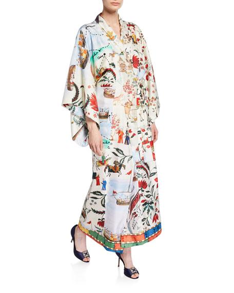 Silk Road King Twill Kimono