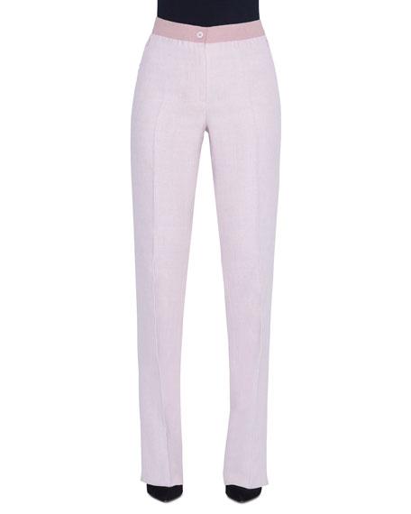 Akris Carl Linen-Wool Pants