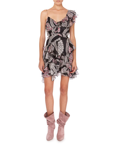 Enta Summer Night Print Dress