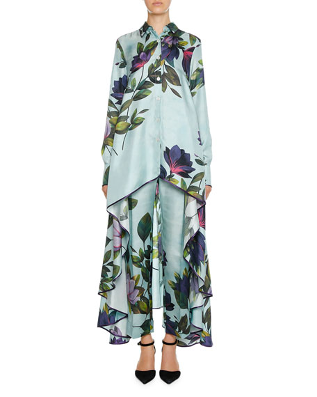 F.R.S For Restless Sleepers Zephyrus Magnolia Print Twill