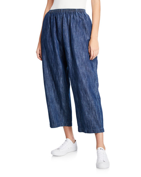 Eskandar Cotton-Linen Japanese Trousers