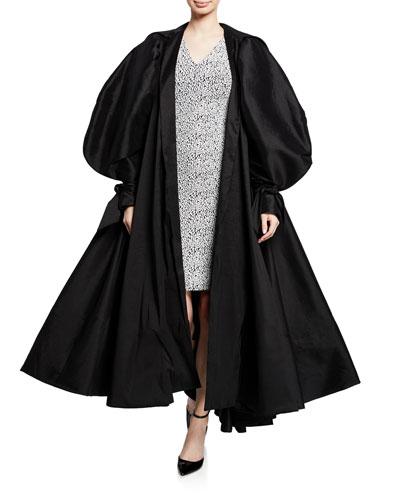 Taffeta Opera Coat