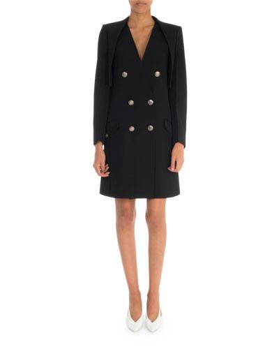 Long-Sleeve Cropped Bolero Jacket