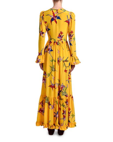 Summer Visconti Floral Maxi Dress