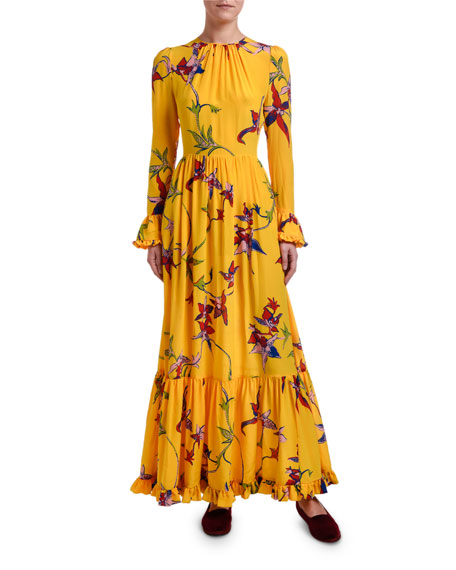 Double J Summer Visconti Floral Maxi Dress