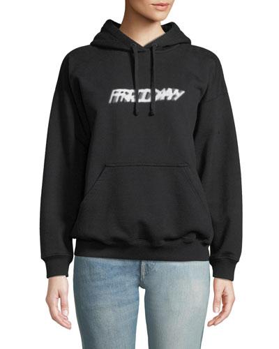 Weekend Slogan Hoodie Sweatshirt