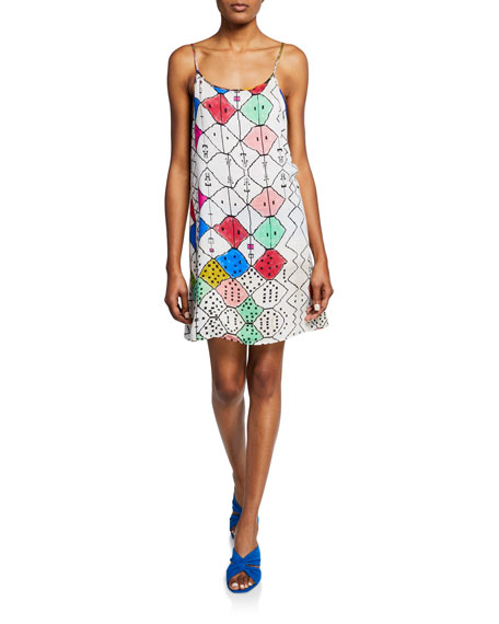 Reversible Sleeveless Slip Dress