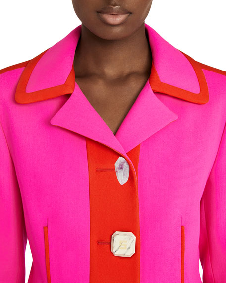 Jewel Button Jacket