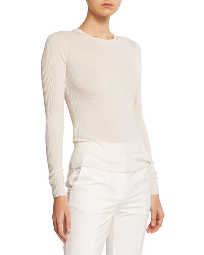 Browning Cashmere Silk Ribbed Sweater
