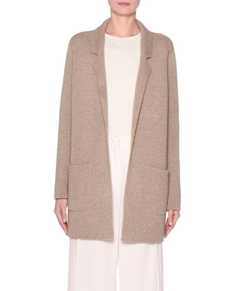 Cashmere/Silk/Cotton Knit Jacket