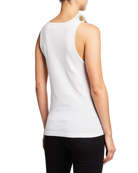 Jaws Scoop-Neck Tank Top