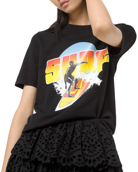 Short-Sleeve Graphic Surf Tee
