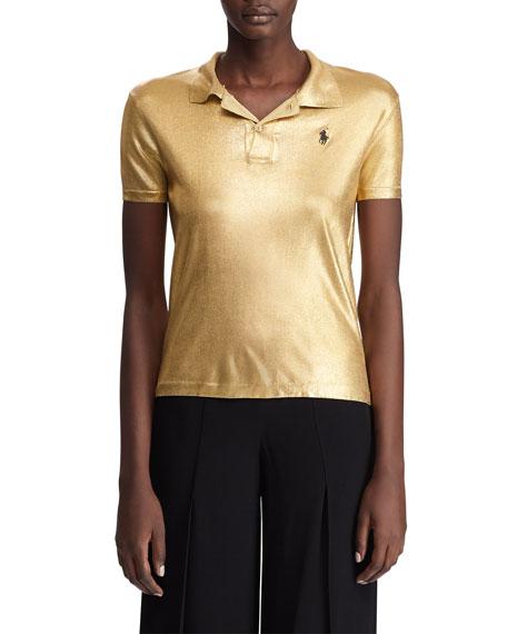Ralph Lauren T-shirts METALLIC CLASSIC POLO SHIRT