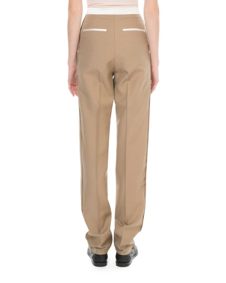 High-Waist Tuxedo Pants