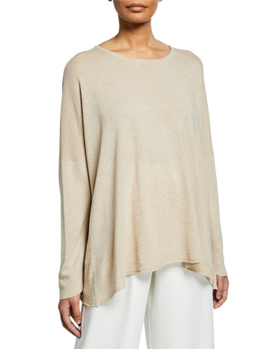 6449a869b134a6 Promotion Ultra Lightweight Raw Edge Silk Sweater