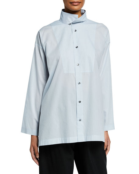 Slim A-Line Two-Collar Shirt
