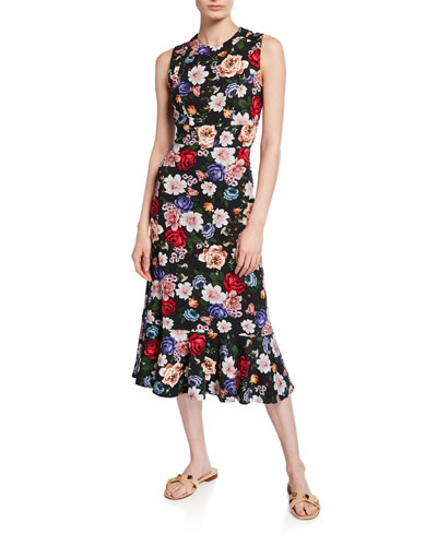 Grazia Floral Sleeveless Dress