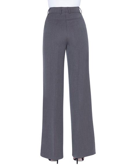 Floyd Wool Wide-Leg Pants