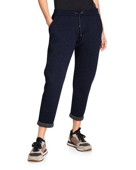 Brunello Cucinelli Wool Cotton Spa Pants