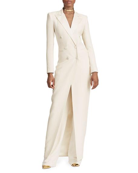 Ralph Lauren Collection Kristian Tuxedo Evening Dress
