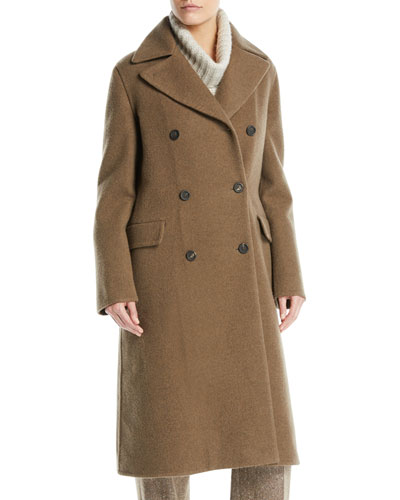 977cbd54d73 Double-Breasted Cashmere Coat Quick Look. Loro Piana
