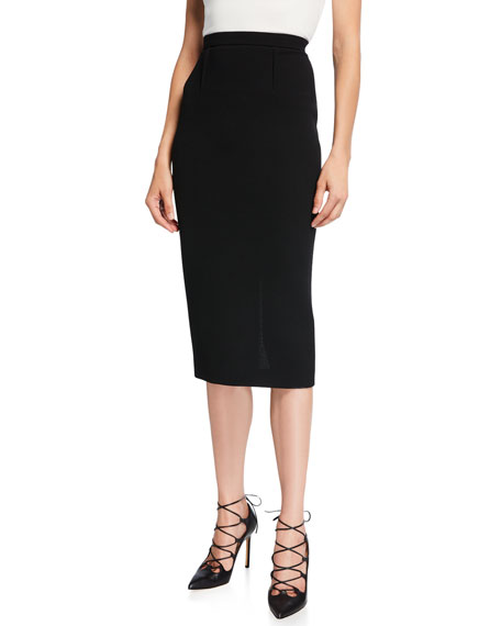 9b511af954 Roland Mouret Arreton Wool Pencil Skirt