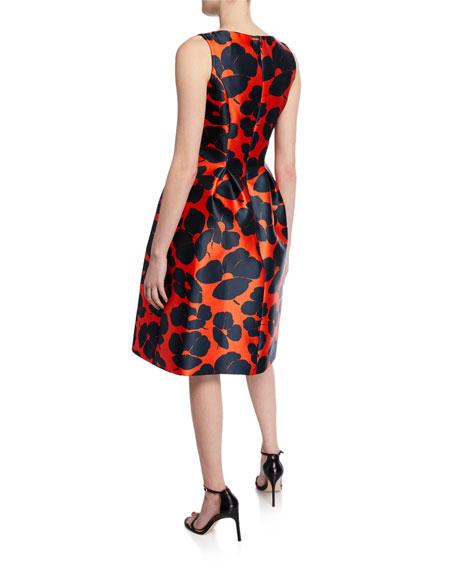 Betsy Full-Skirt Sheath Dress