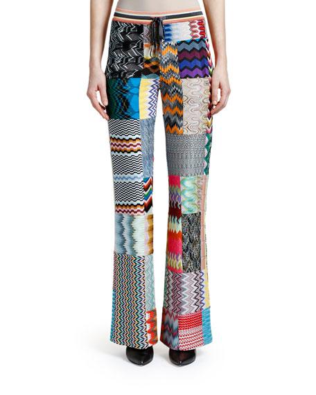 Missoni Patchwork Straight-Leg Trousers