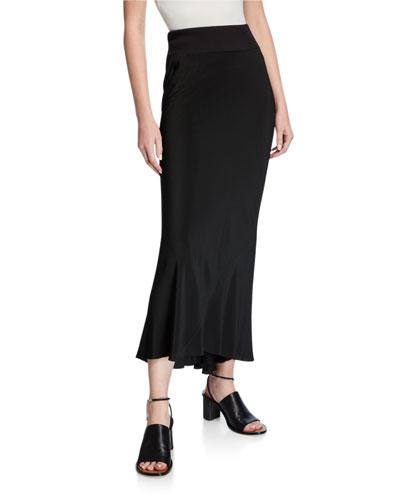 Cocoon Crepe Skirt
