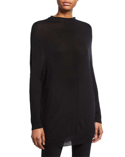Merino Crater-Knit Sweater