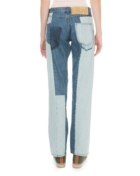 x Paula's Ibiza Patchwork Jeans