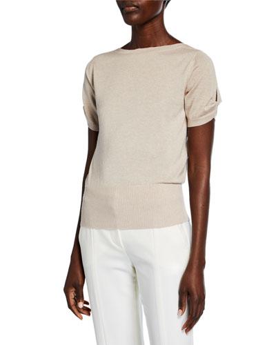 Osteo Short-Sleeve Sweater