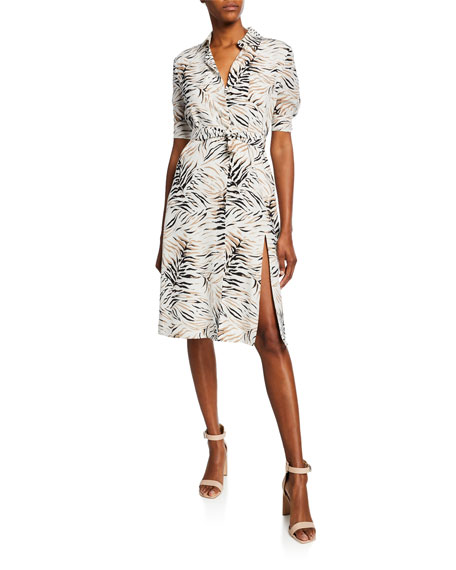 Altuzarra Mercado Short-Sleeve Shirtdress