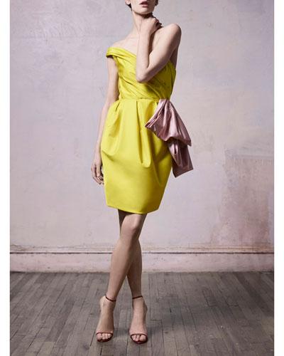 One-Shoulder Radzmir Cocktail Dress