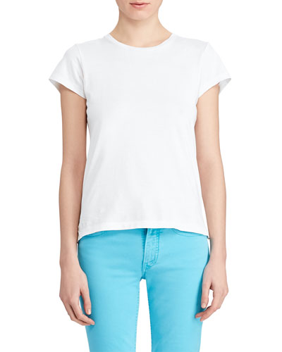 323896e2462 Cotton Crewneck T-Shirt Quick Look. Ralph Lauren Collection