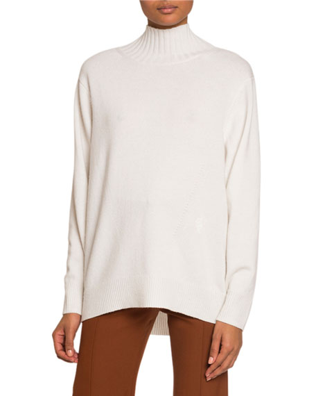 Cashmere Open-Back Sweater