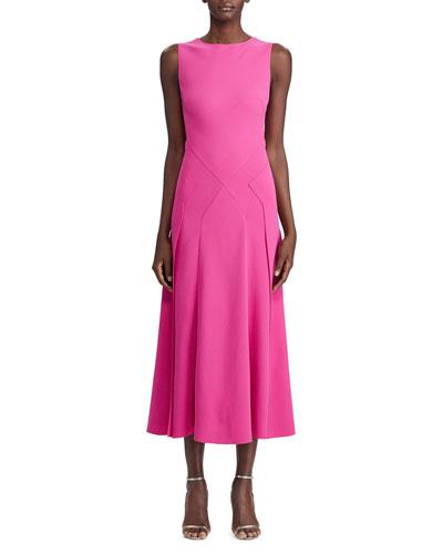Blaise Sleeveless A-line Dress