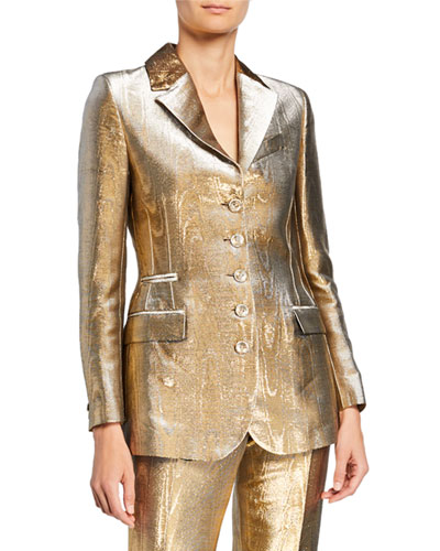 Golden Foiled Jacket
