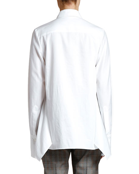 Side-Vented Button-Down Shirt