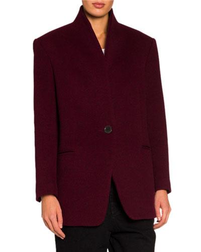 e174217928 Oversized Wool-Cashmere Blazer Jacket Quick Look. Isabel Marant