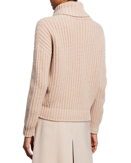 Davenport Cashmere Turtleneck Sweater