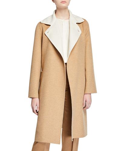 Cashmere Double-Face Coat